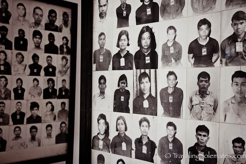 10_Photographs of Victims, Tuol Sleng Prison, Phnom Penh, Cambodia