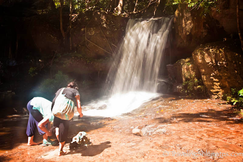 Waterfall, Kbal Spean, Cambodia
