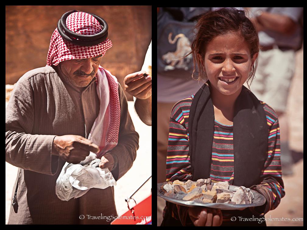 Bedouin Vendors, Petra Jordan