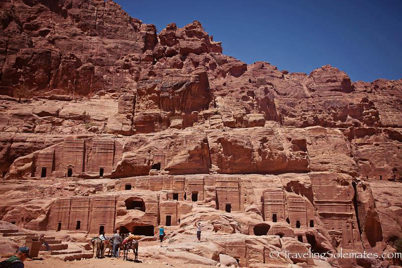 Necropolis, Petra, Jordan
