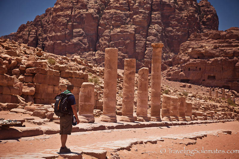 Colonnade Street, Petra, Jordan