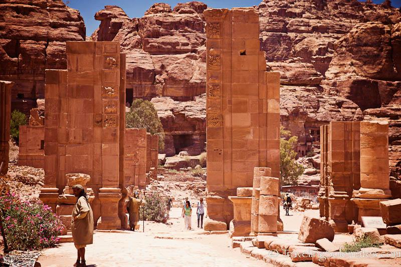 The  Tenemos Gate, Petra, Jordan