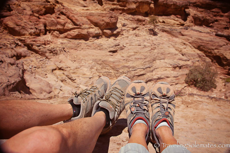 Hike to the Monastery, Petra, Jordan