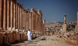 Cardo Maximus (Colonnaded Street), Jerash, Jordan