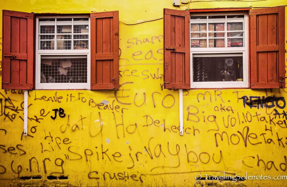 Colorful Building, Roseau, Dominica