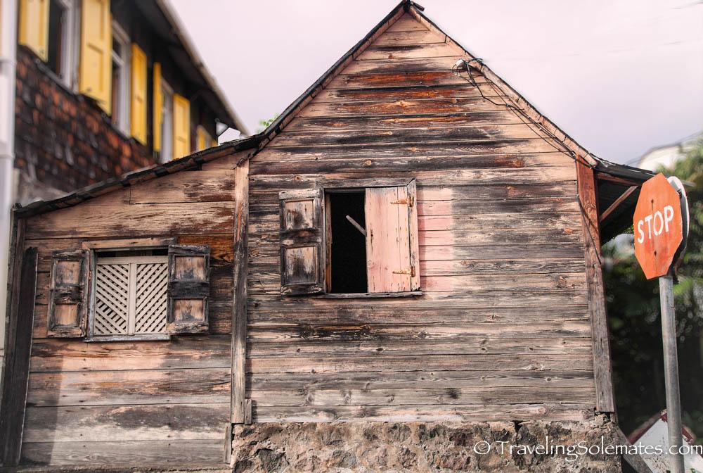 Rickety House, Roseau, Dominica