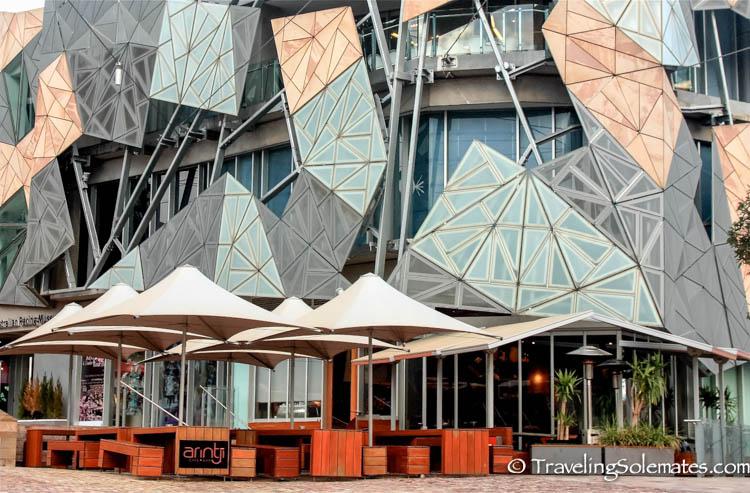 Federal Square. Melbourne, Australia