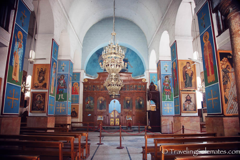 St. George Church, Madaba, Jordan