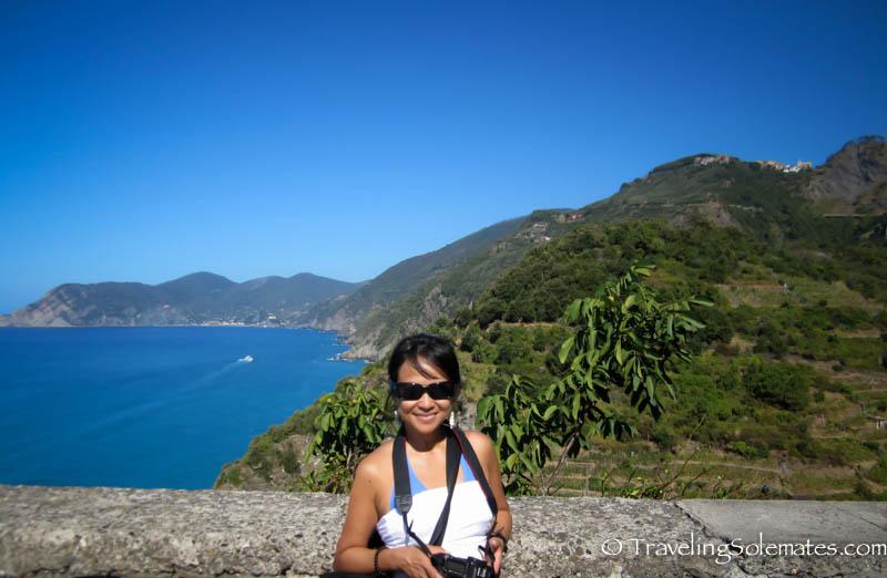 Viewpoint in Corniglia, Hiking in Cinque Terre, Italy