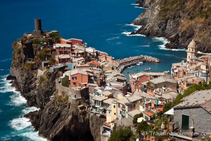 Vernazza,  Hiking in Cinque Terre, Italy