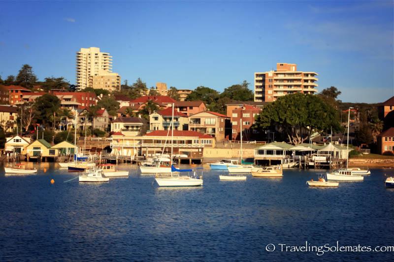 Manly Harbor, Sydney, Australia.