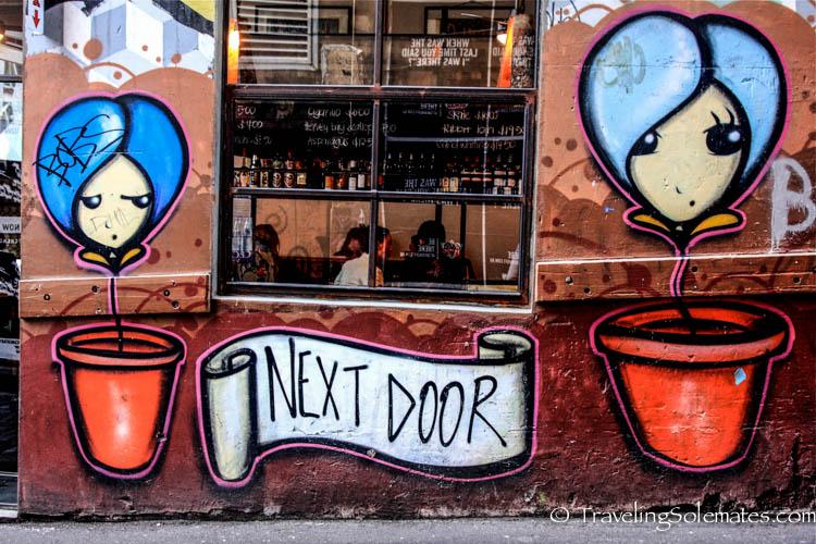 Grafitti Walls, Hosier Lane, Melbourne, Australia