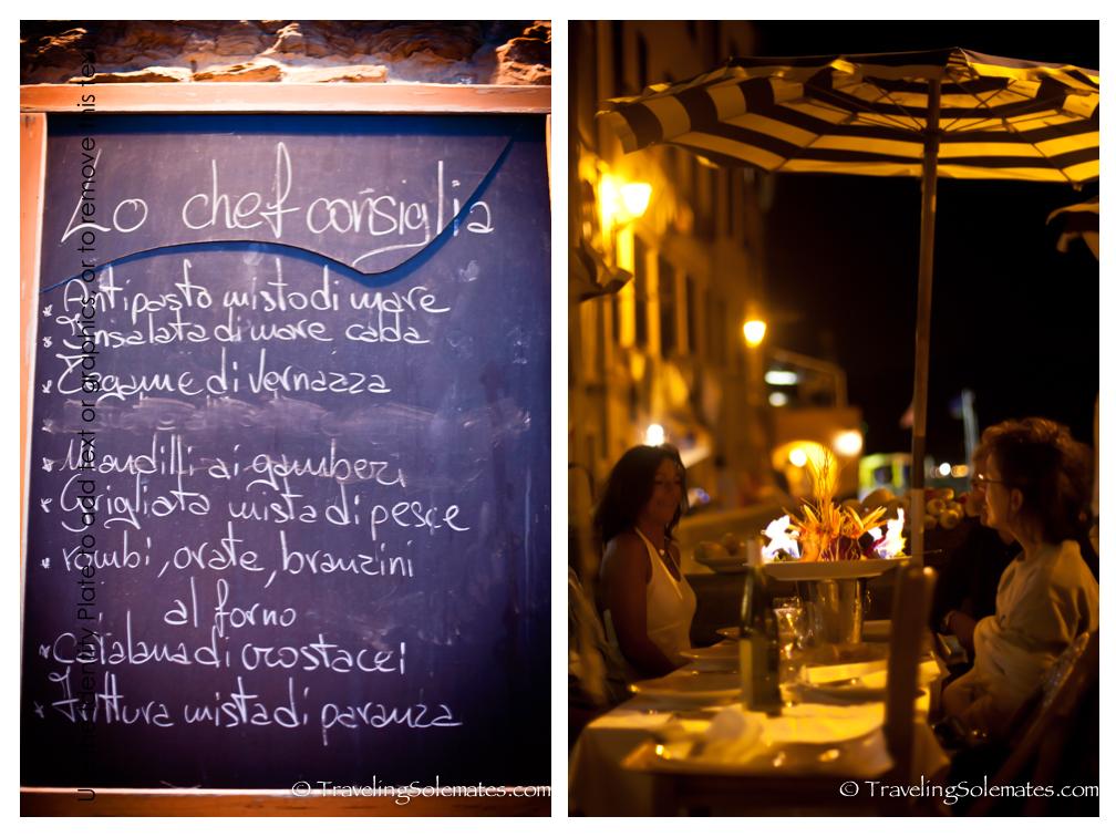Il Gambero Rosso Restaurant, Vernazza Cinque Terre, Italy