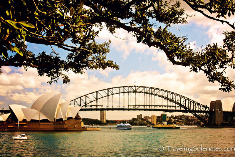 View from Mrs MacQuaries Chair, Sydney, Australia
