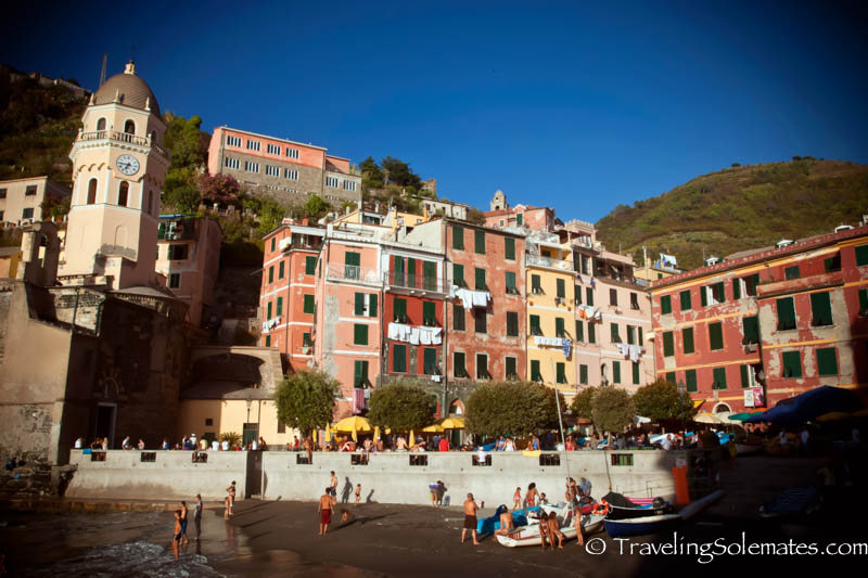 Vernaza Harbor, Hiking in Cinque Terre, Italy