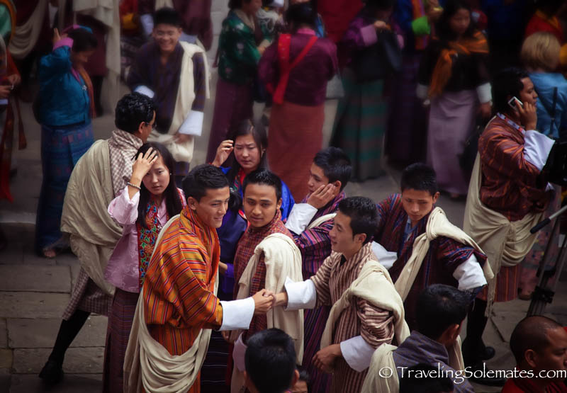 Festival (Tsechu, Tashichho Dzong, Thimphu, Bhutan.