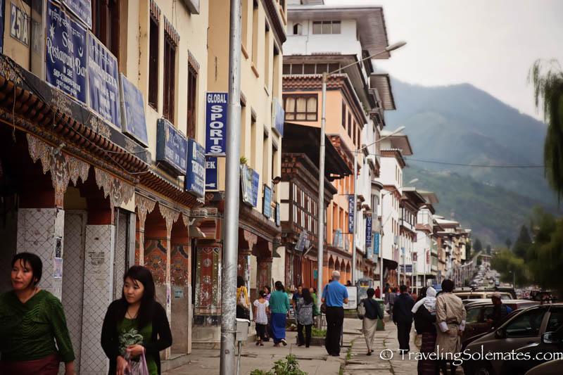 Norzin Lam, Main Street in Thimphu, Bhutan.jpg
