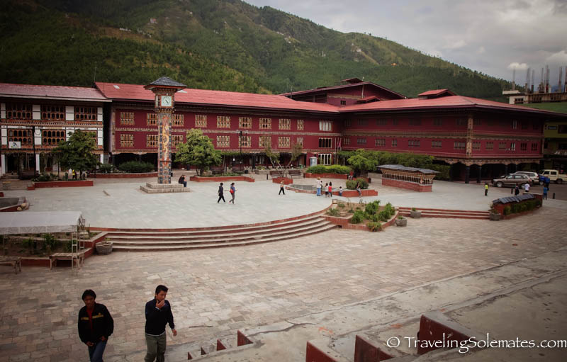 Clock Tower Square in Thimphu, Bhutan
