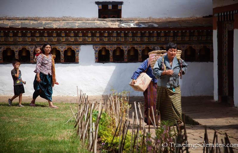 Chimi Lakhang, Punakha Valley, Bhutan