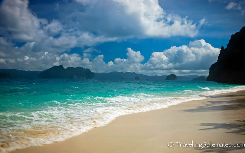 Beach in Entalula Island, El Nido, Palawan, Philippines