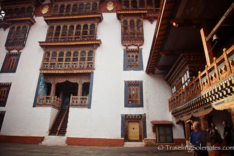 Courtyard 4, Punakha Dzong, Bhutan.