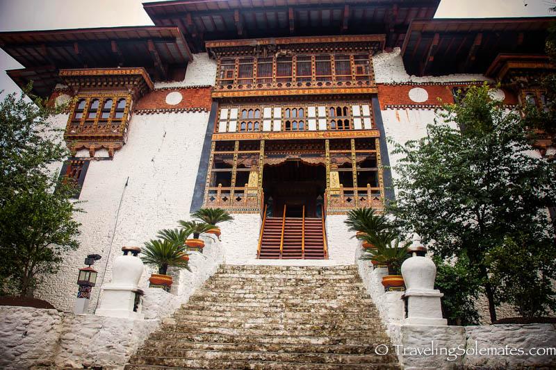 Main entrance to Punakha Dzong, Bhutan