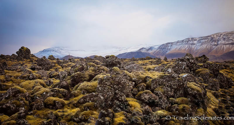 Lava Field in Snaefellsnes Peninsula, Iceland.