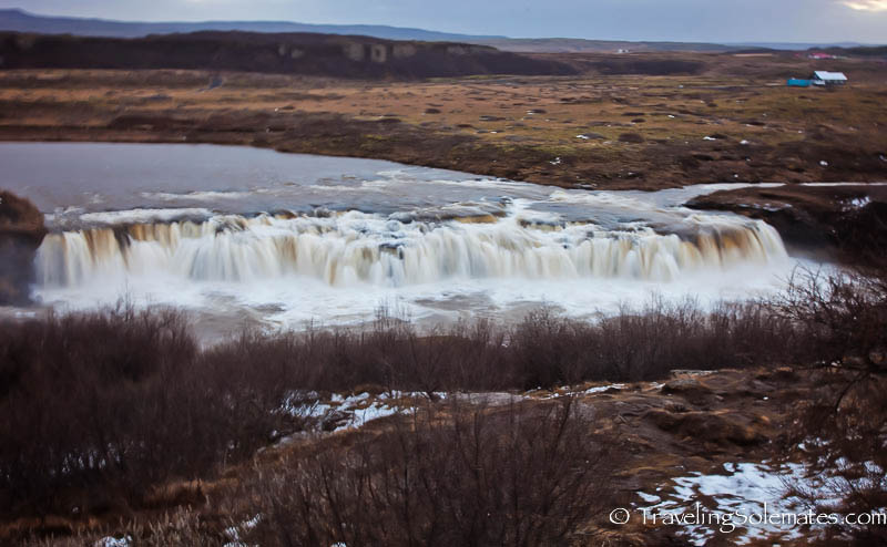 Faxafoss Waterfall, Golden Circle Tour, Iceland