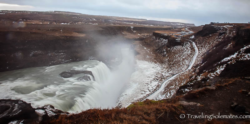 Gullfoss Waterfall, Golden Circle Tour, Iceland