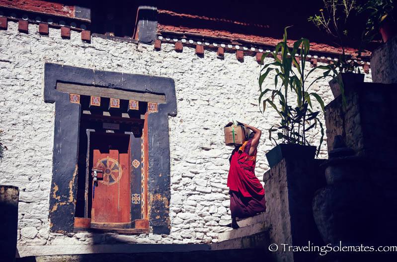Trongsa Dzong (Fortress), Bhutan