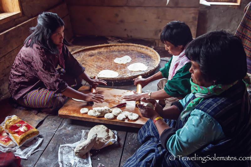 Community Kitchen, Ura Temple, Ura Valley, Bumthang, Bhutan