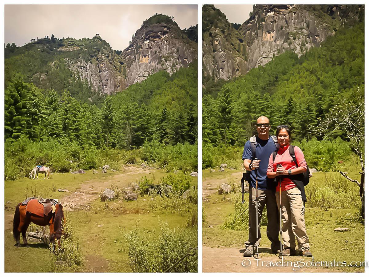 Trailhead,  Hike to Tiger's Nest Monastery, Paro, Bhutan