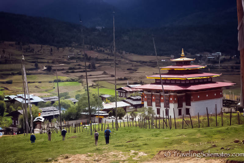 Hiking in Ura Valley, Bumthang, Bhutan