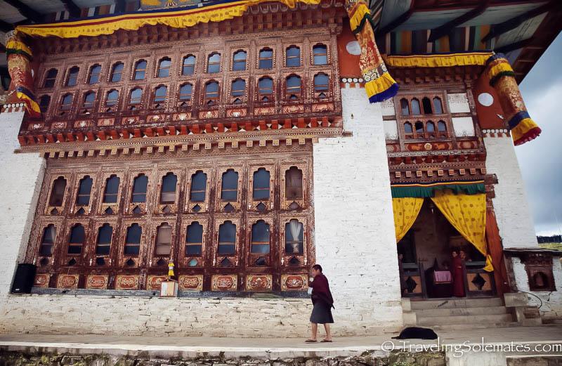 Ura Temple, Ura Valley, Bumthang, Bhutan
