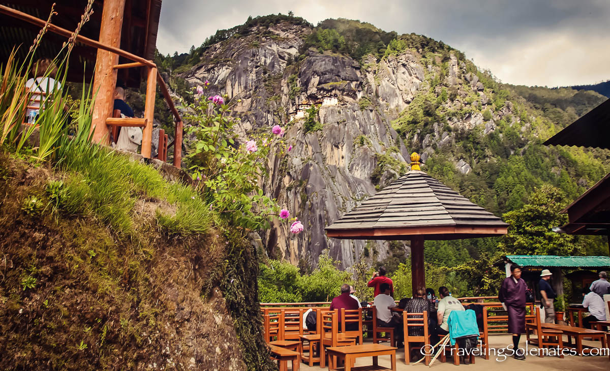 Cafeteria on Tiger's Nest Monastery Hike, Paro, Bhutan