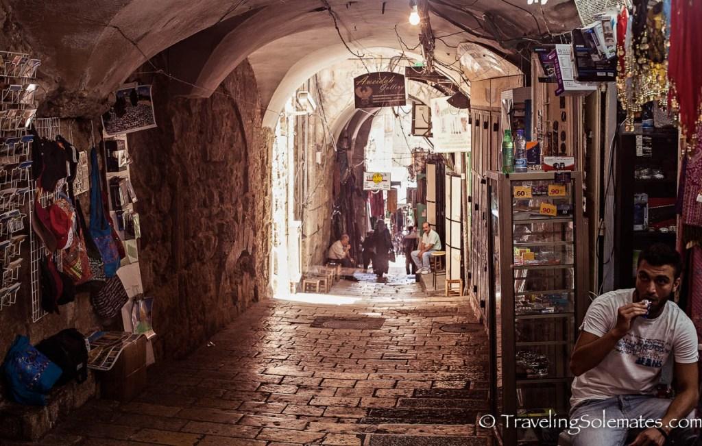 Via, Dolorosa, Old City of Jerusalem, Israel.