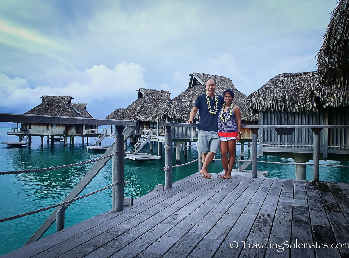 Overwater Bungalow, Hlton Bora Bora Nui Resort & Spa, Bora Bora, French Polynesia, South Pacific.