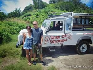 4x4 Jeep safari in Bora Bora, French Polynesia