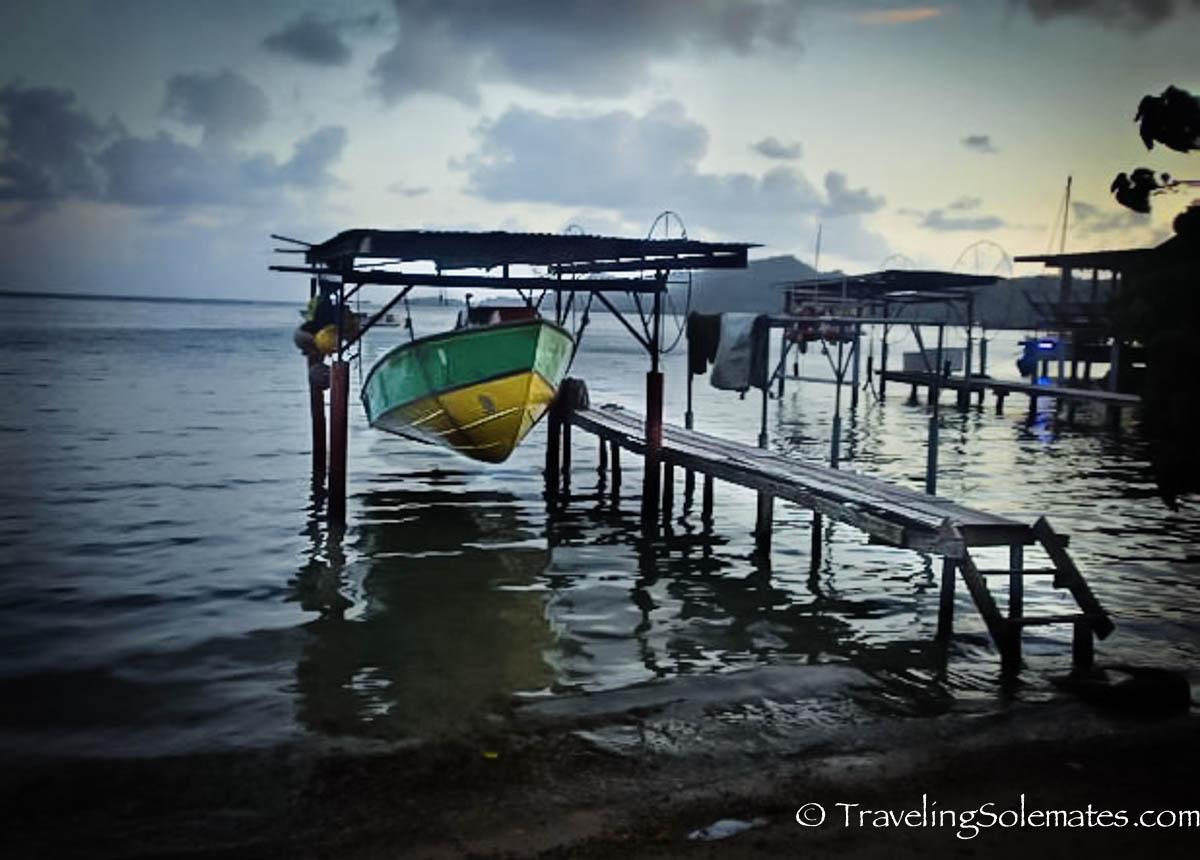 Boats in Vaitape, Bora Bora