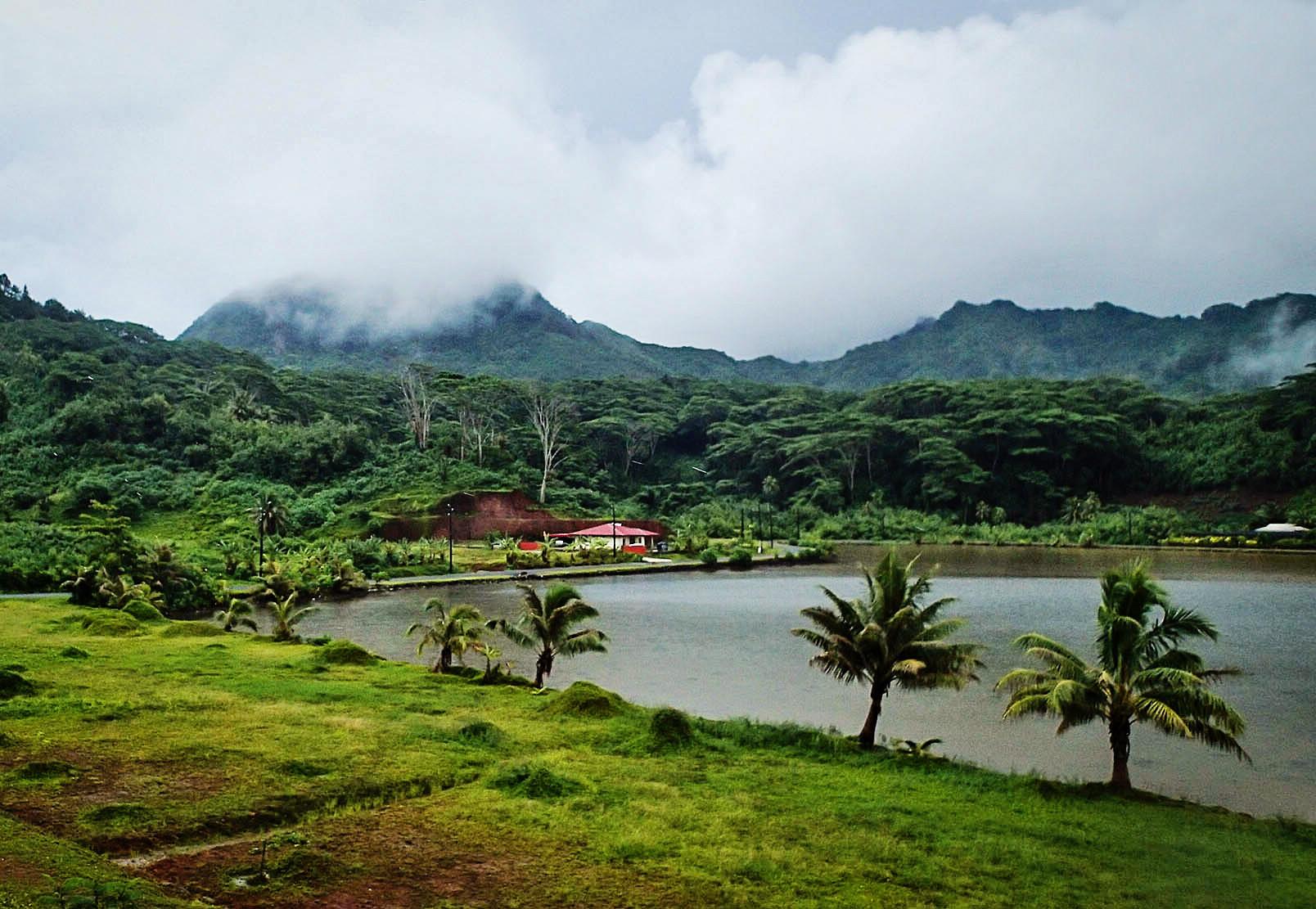 Island of Huahine, French Polynesia, South Pacifc
