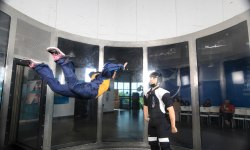 Wind Tunnel in Skyventure Montreal, Canada