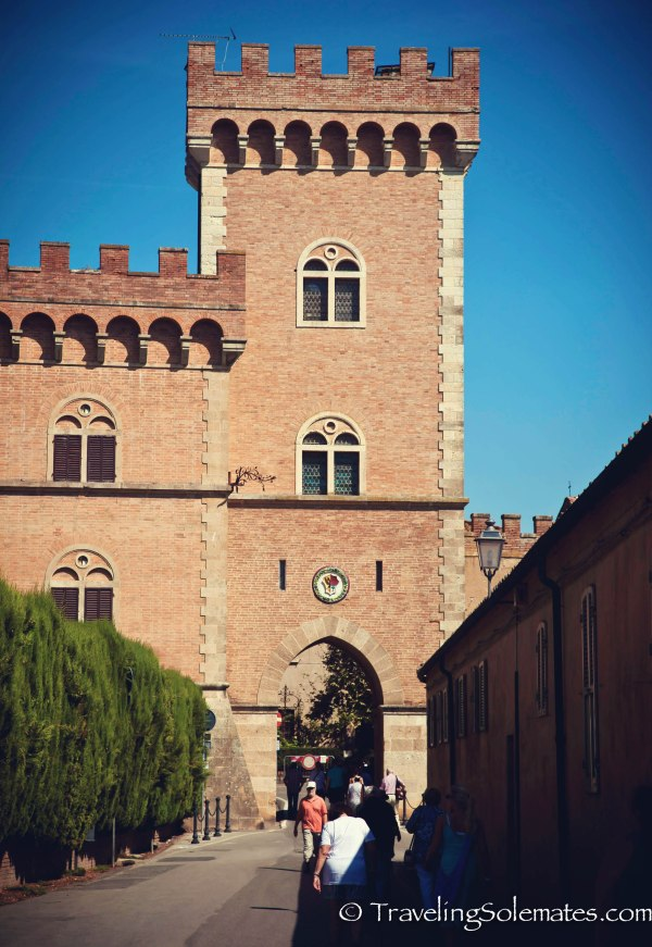 Castle in Bolgheri, Etruscan Coast, Tuscany, Italy