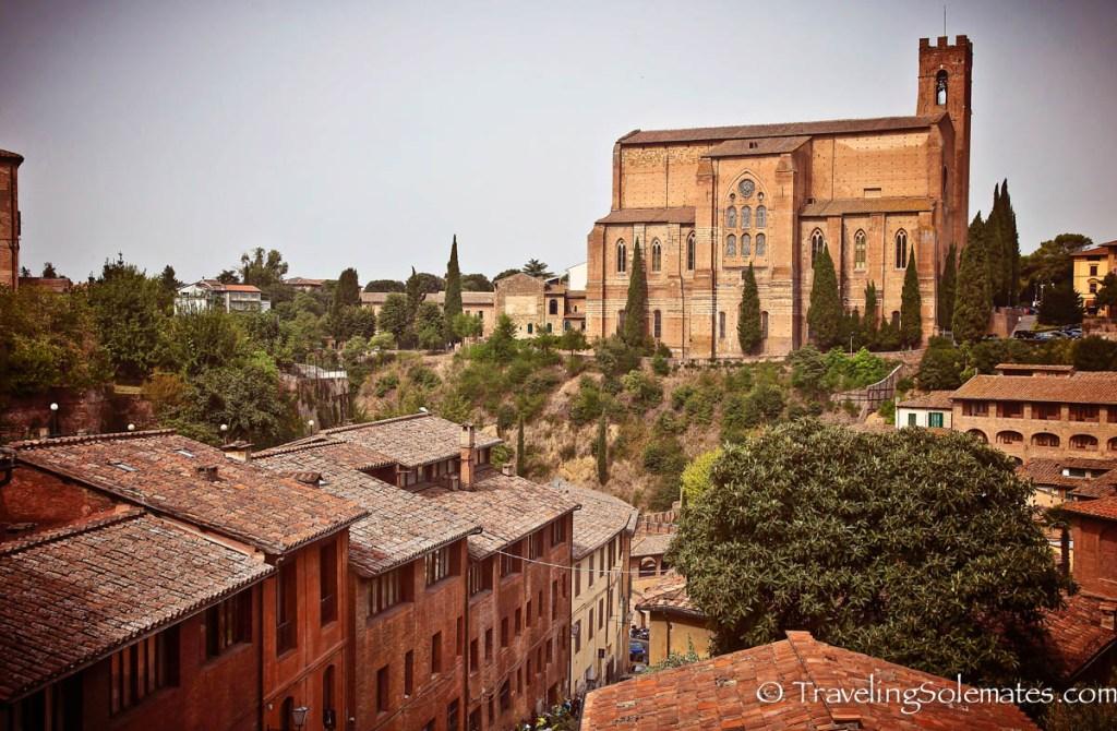 Basilica of San Domenico, Siena, Italy