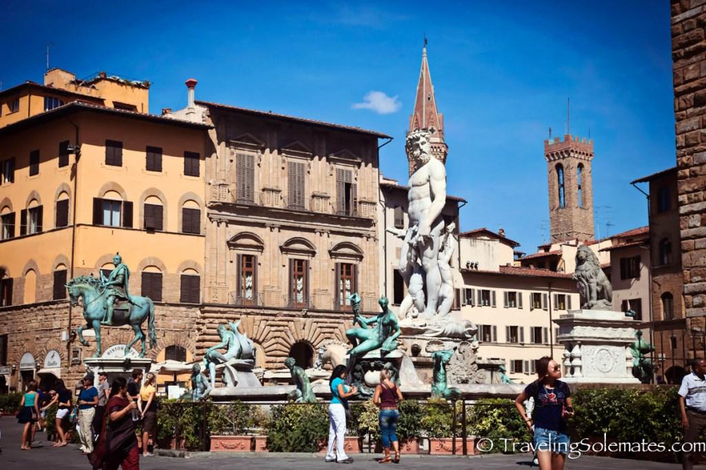 Plazza della Signora, Florence, Italy