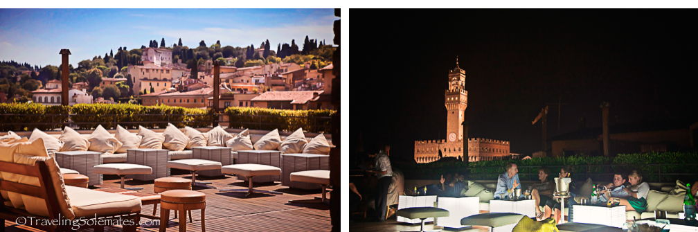 La Terazza Rooftop Bar at Hotel Continentale, Florence, Italy