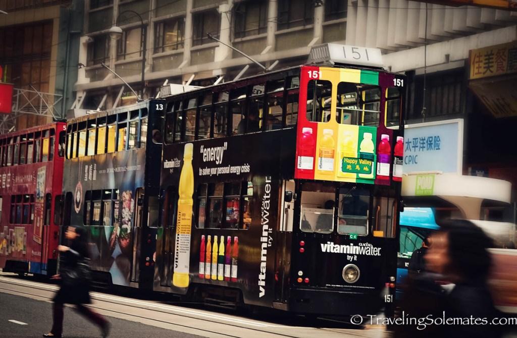 Hong Kong Tram:Double Deccker Buses