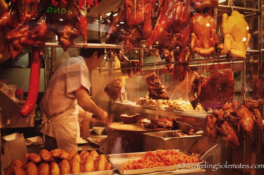 Food Stall in Sheung Wua, Old Hong Kong