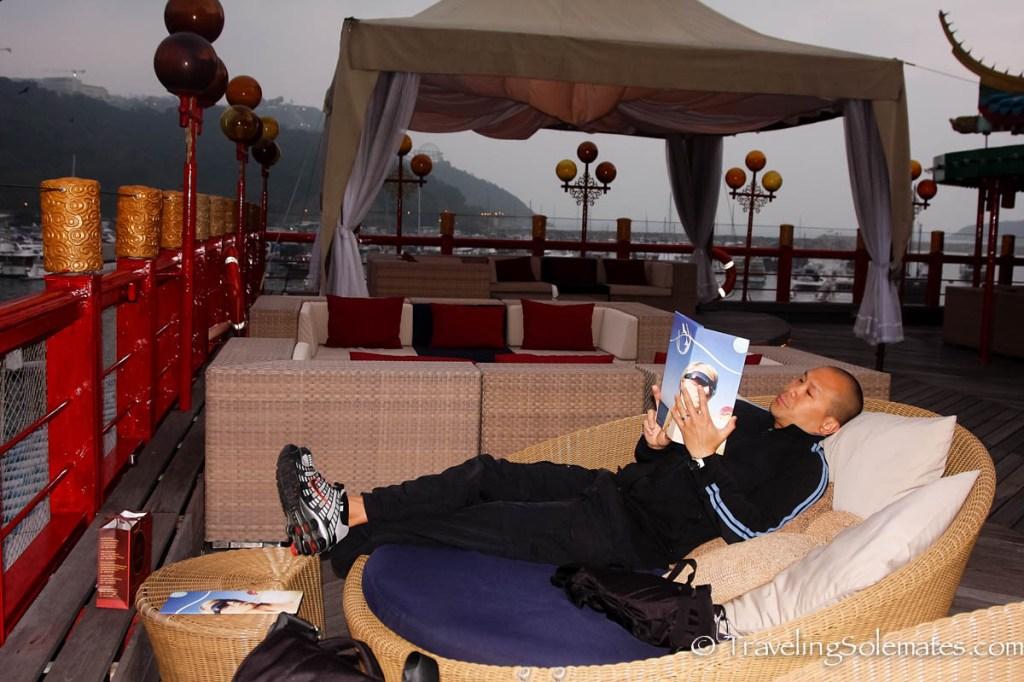 On top of Floating Restaurant, Aberdeen, Hong Kong