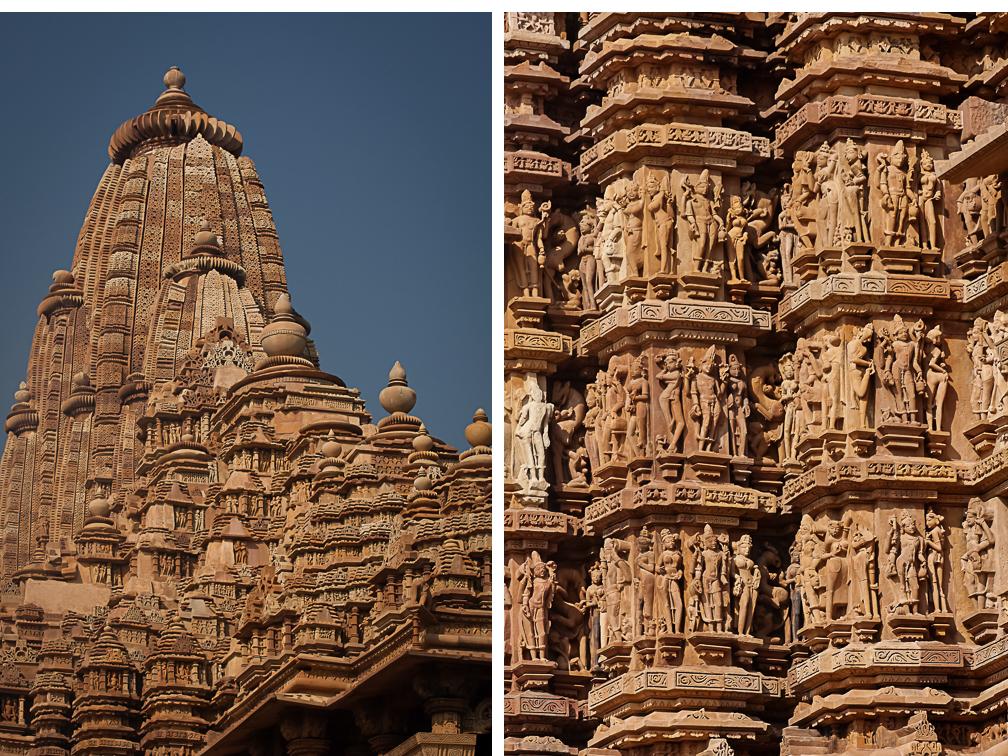 Details in Kandariya Mahadeva Temple