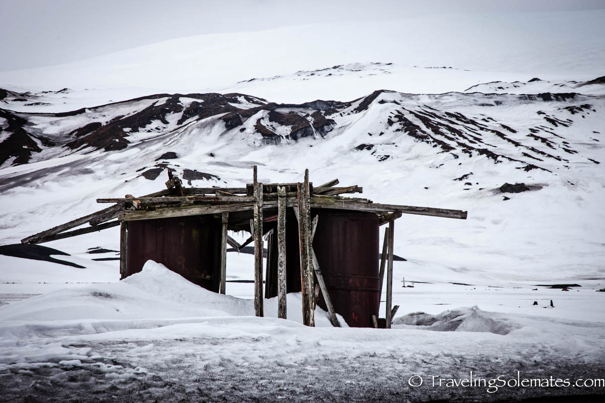Whale Oil tank, Whaler's Bay, Deception Island, Antartica, National Geopgraphic Expeditions